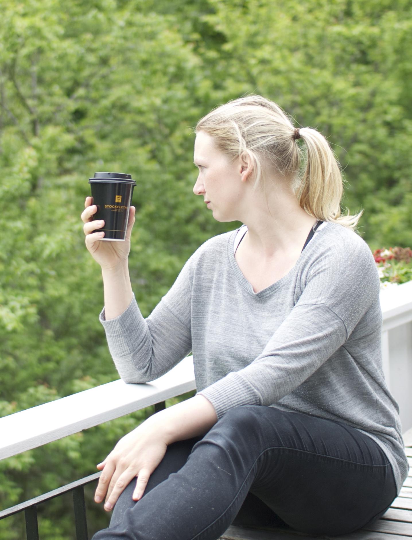 Eg blir sur om eg får dårllig kaffe, kvalitet er viktig.
