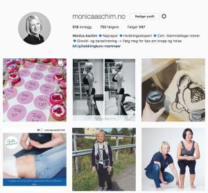 Følg meg på Instagram for gode tips om kropp og helse <3